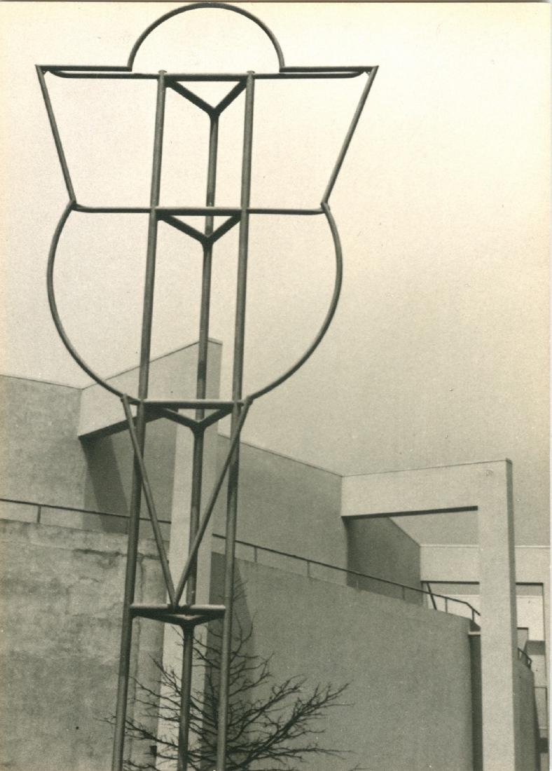 Ford Building With Empty Framework 1939 Photograph