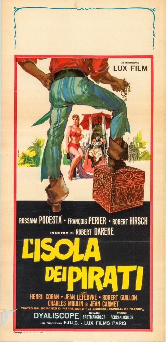 The Amorous Corporal 1958 Italian Locandina