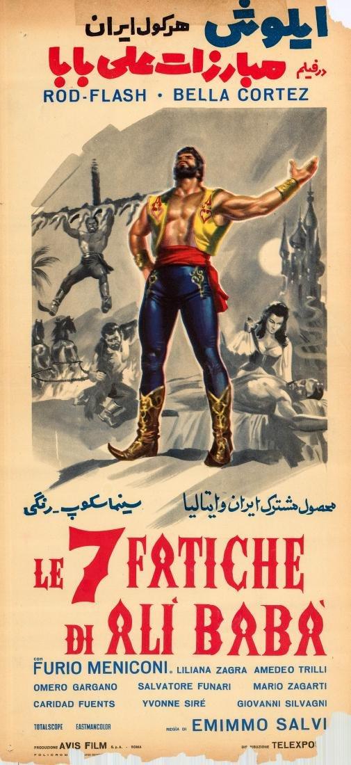 Seven Tasks of Ali Baba 1962 Bella Cortez
