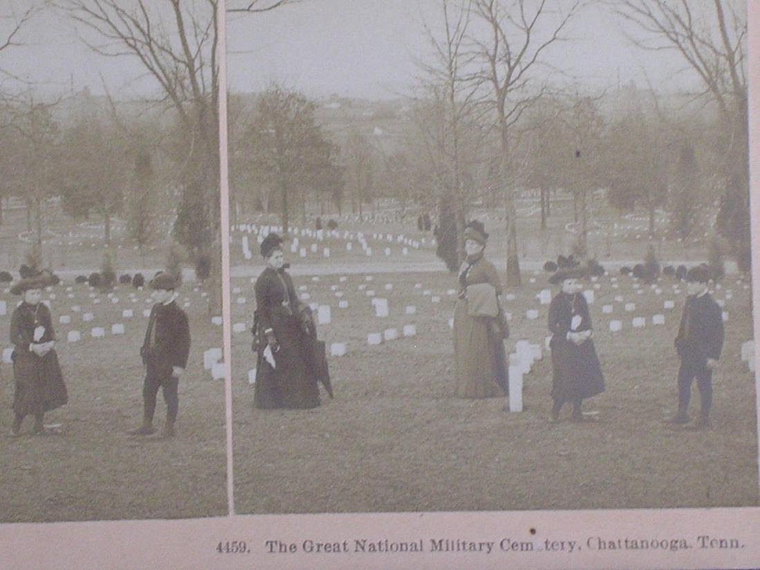 Antique Chattanooga TN Civil War National Cemetery