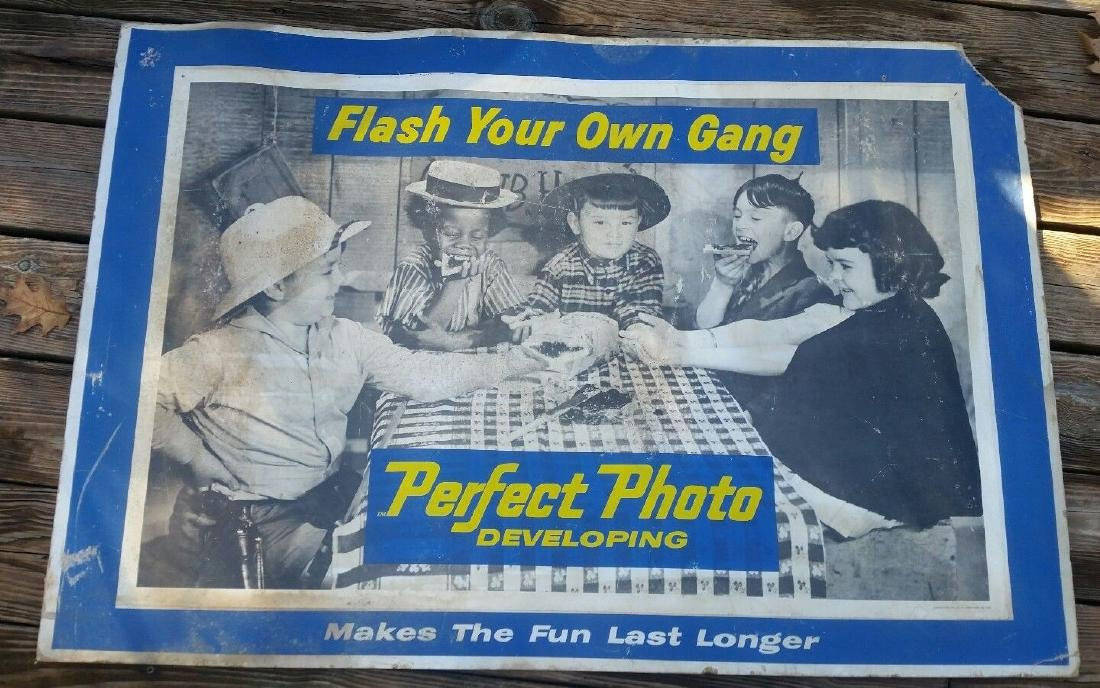 Little Rascals R Gang Spank Alfalfa Kodak Camera
