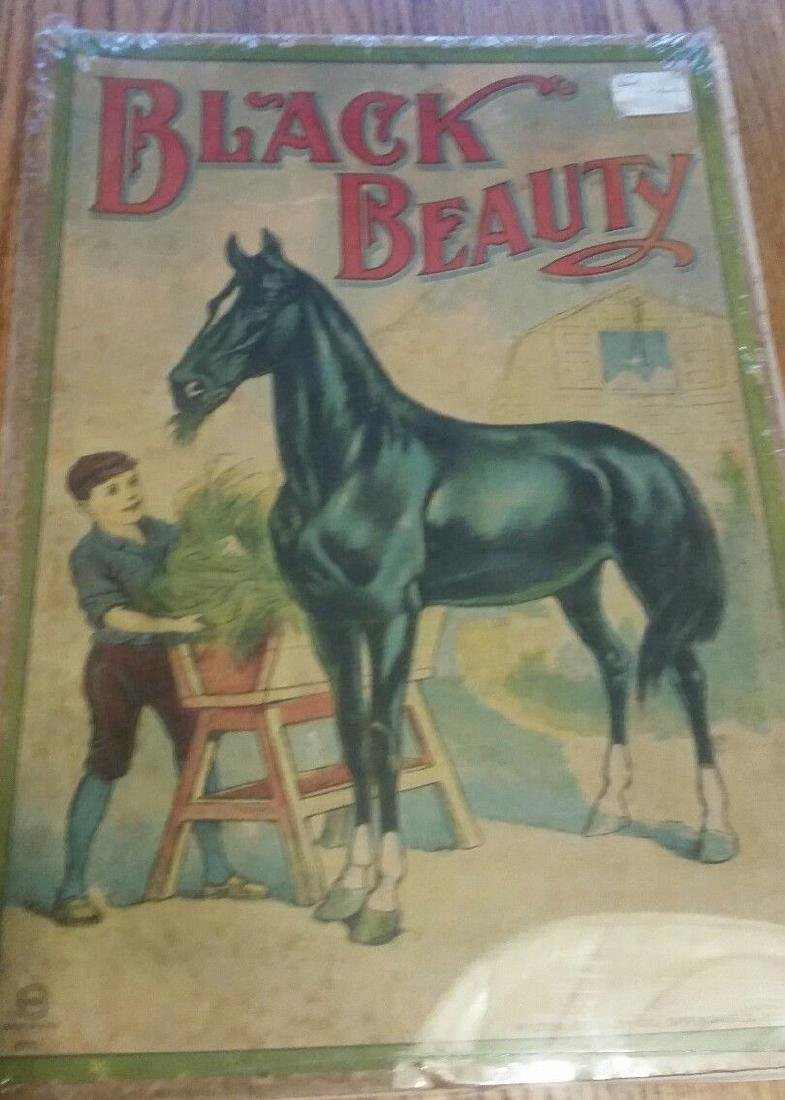 Black Beauty Board Game Milton Bradley Horse Great