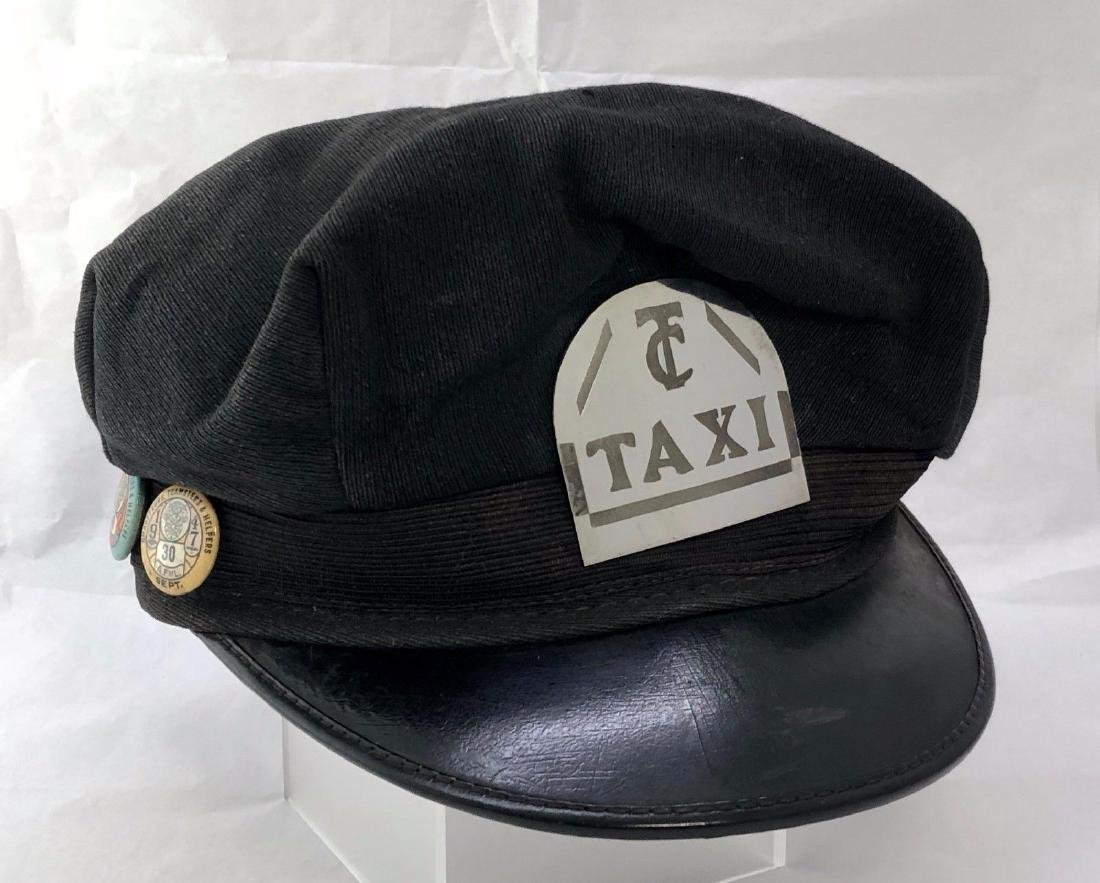Vintage 1947 Handmade Taxi Badge Chauffeur Licenses
