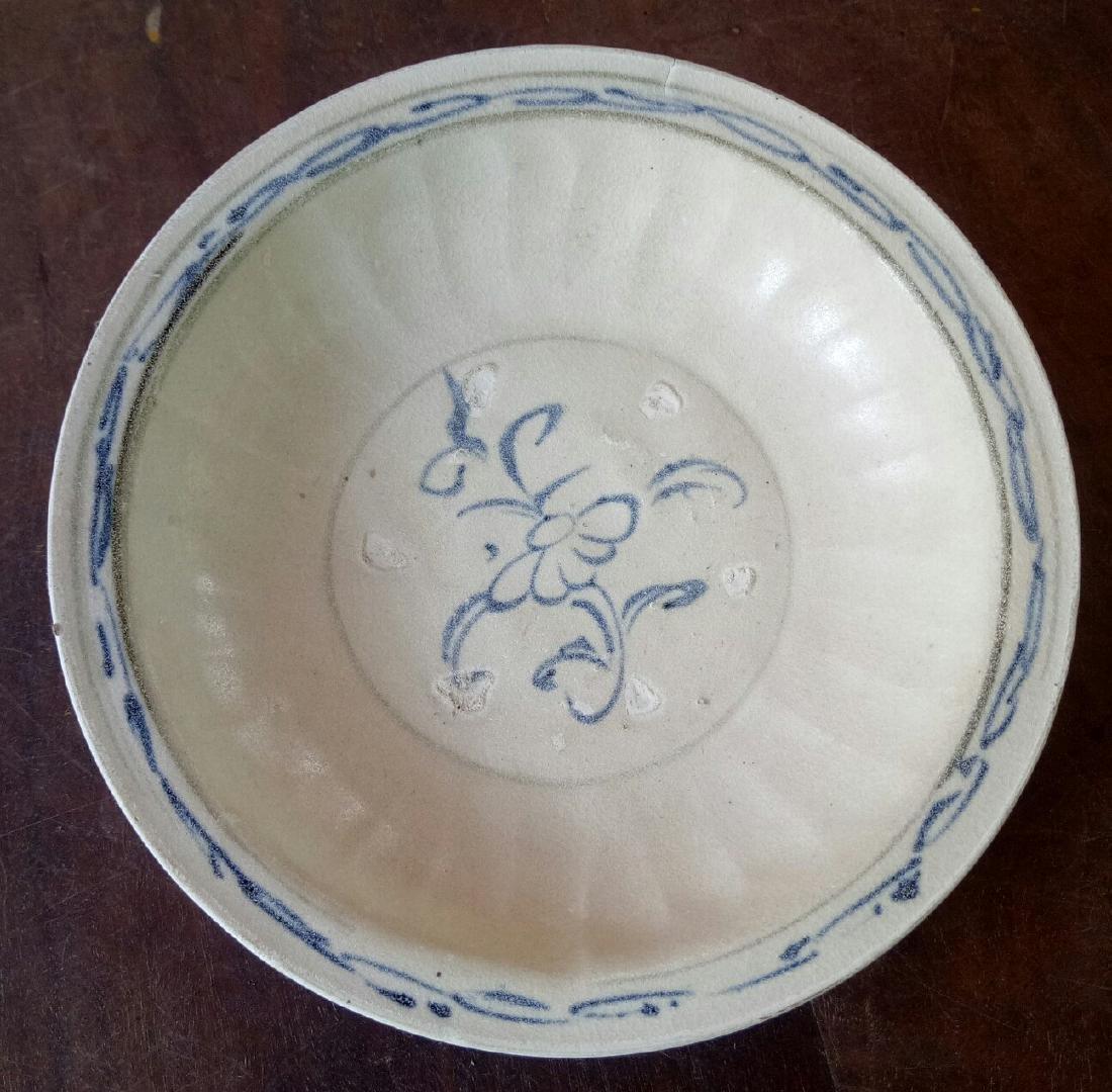 Antique Annamese Porcelain Dish, c1500