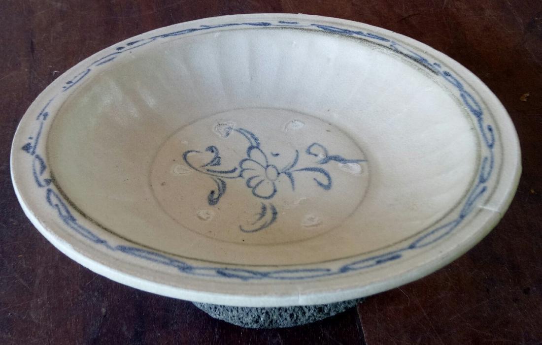 Antique Annamese Porcelain Dish, c1500 - 3