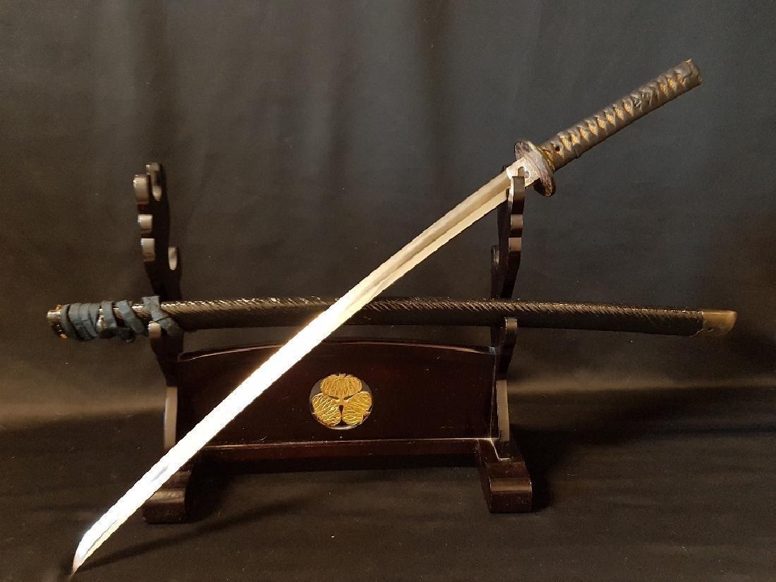 Japanese Edo Fujiwara Yoshishin Samurai Sword