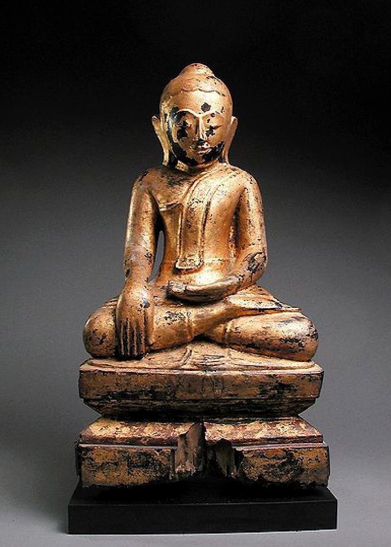 Burma, Shan Buddha