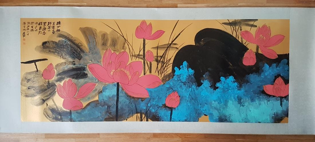 Chinese Painting on paper Zhang Daqian