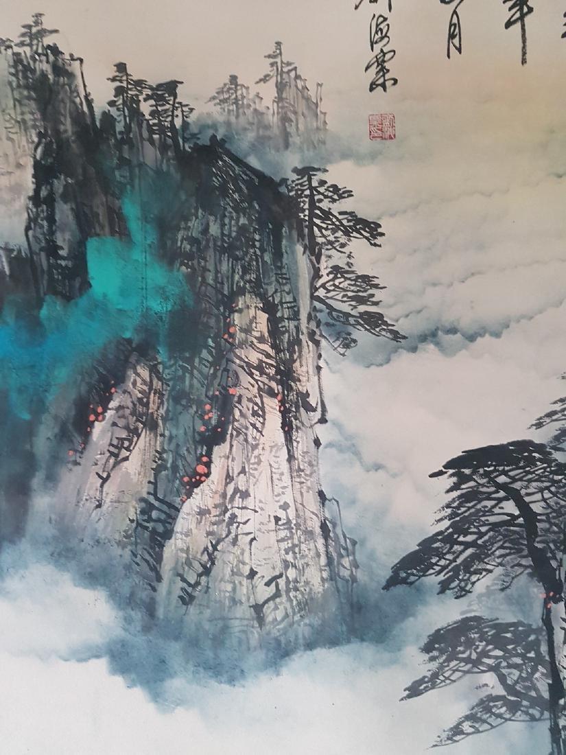 Chinese Painting on paper LIU HAISU - 7
