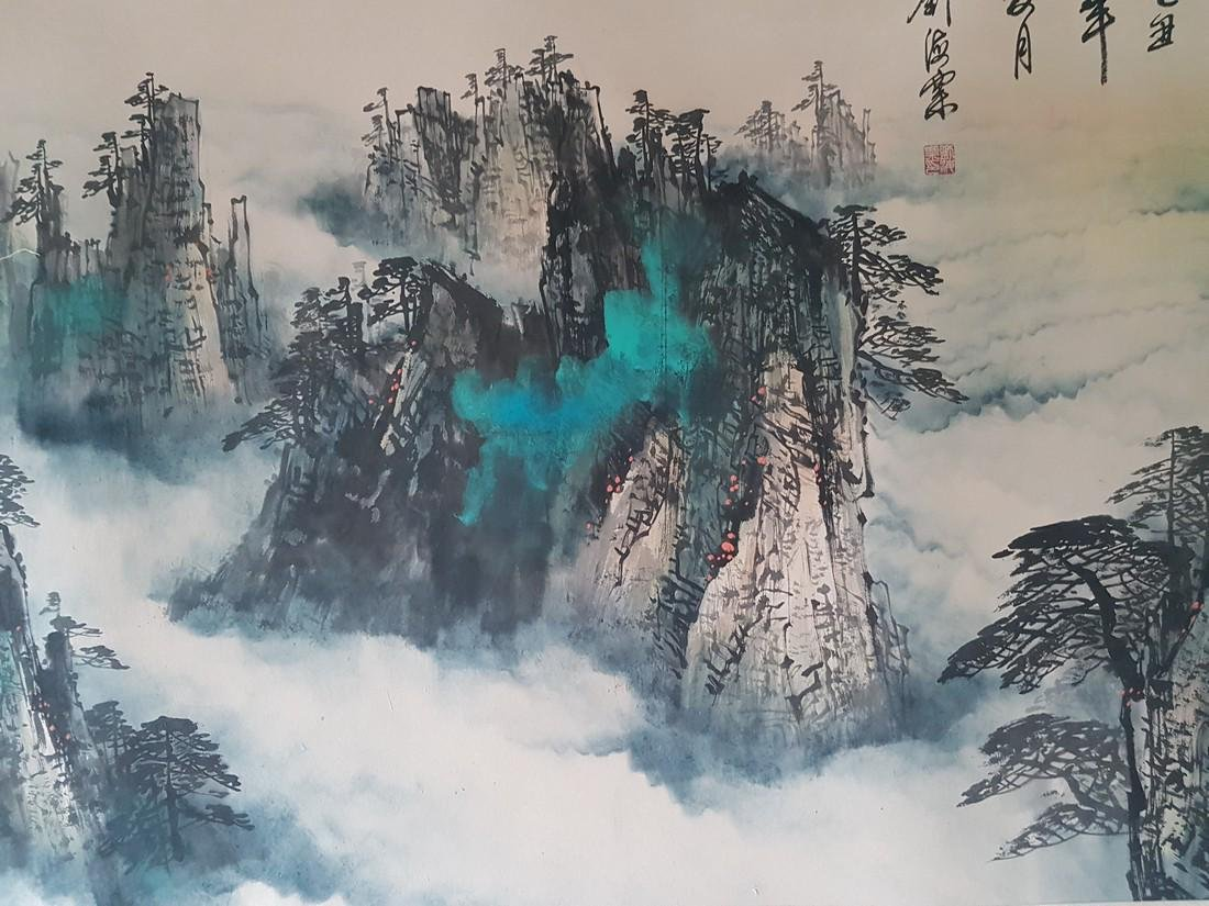 Chinese Painting on paper LIU HAISU - 8
