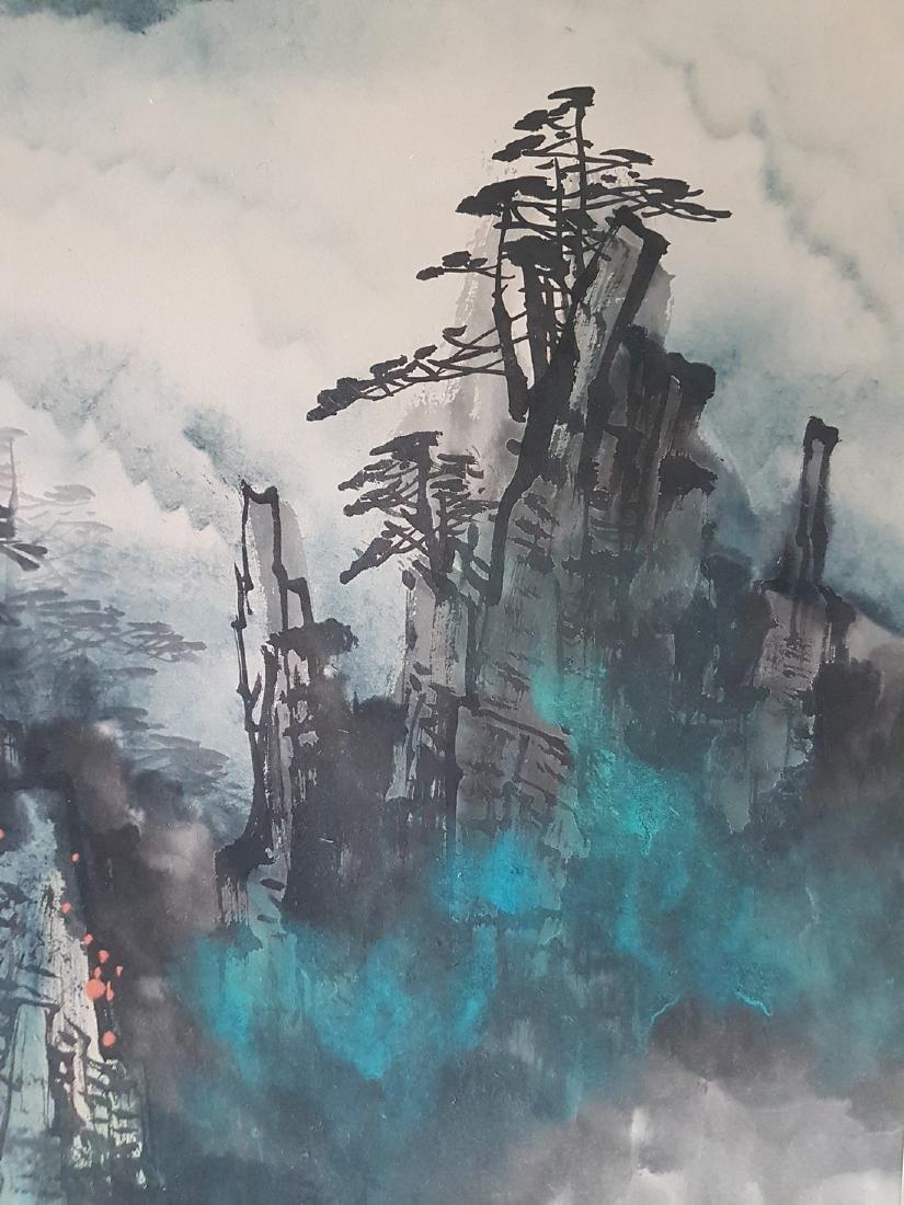 Chinese Painting on paper LIU HAISU - 9