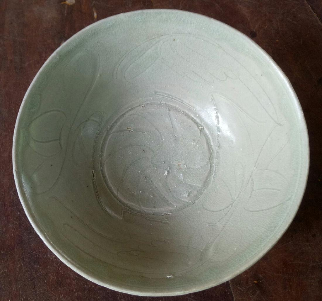 Chinese Song Dynasty Floral Incised Bowl