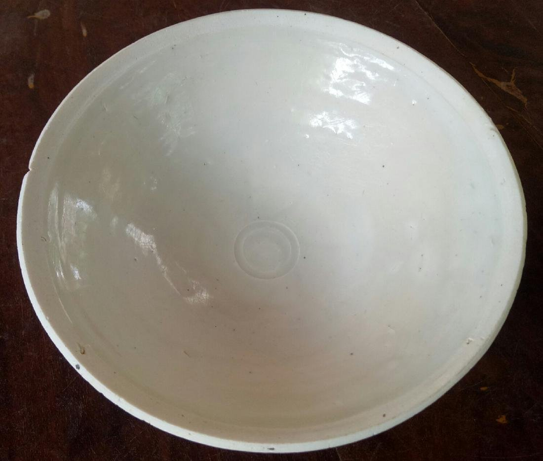 Chinese Song Dynasty Porcelain White Dehua Bowl