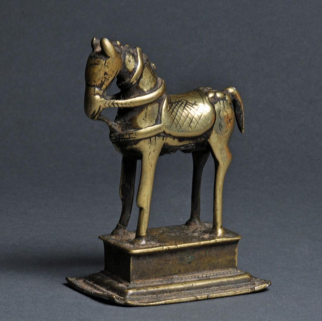India brass horse