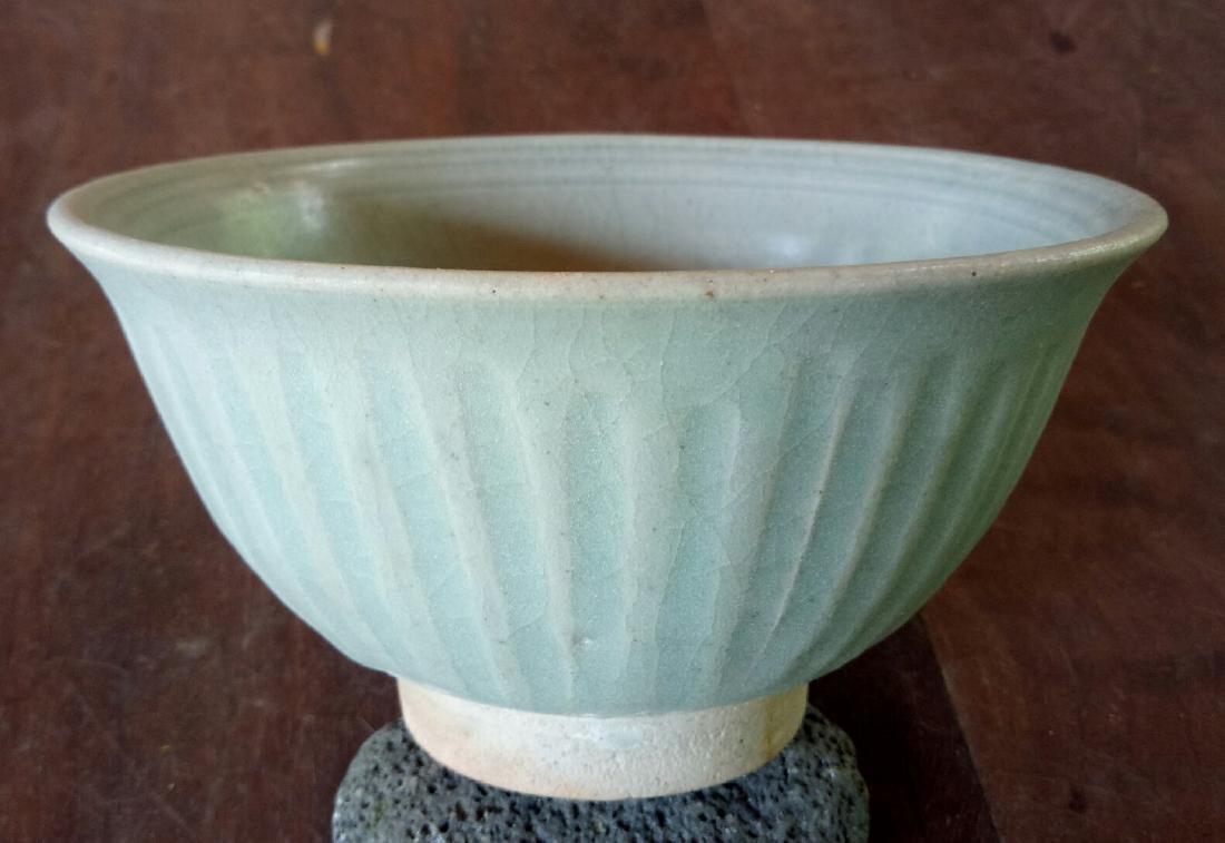 Thai Stoneware Sawankhalok Celadon Bowl, c1450