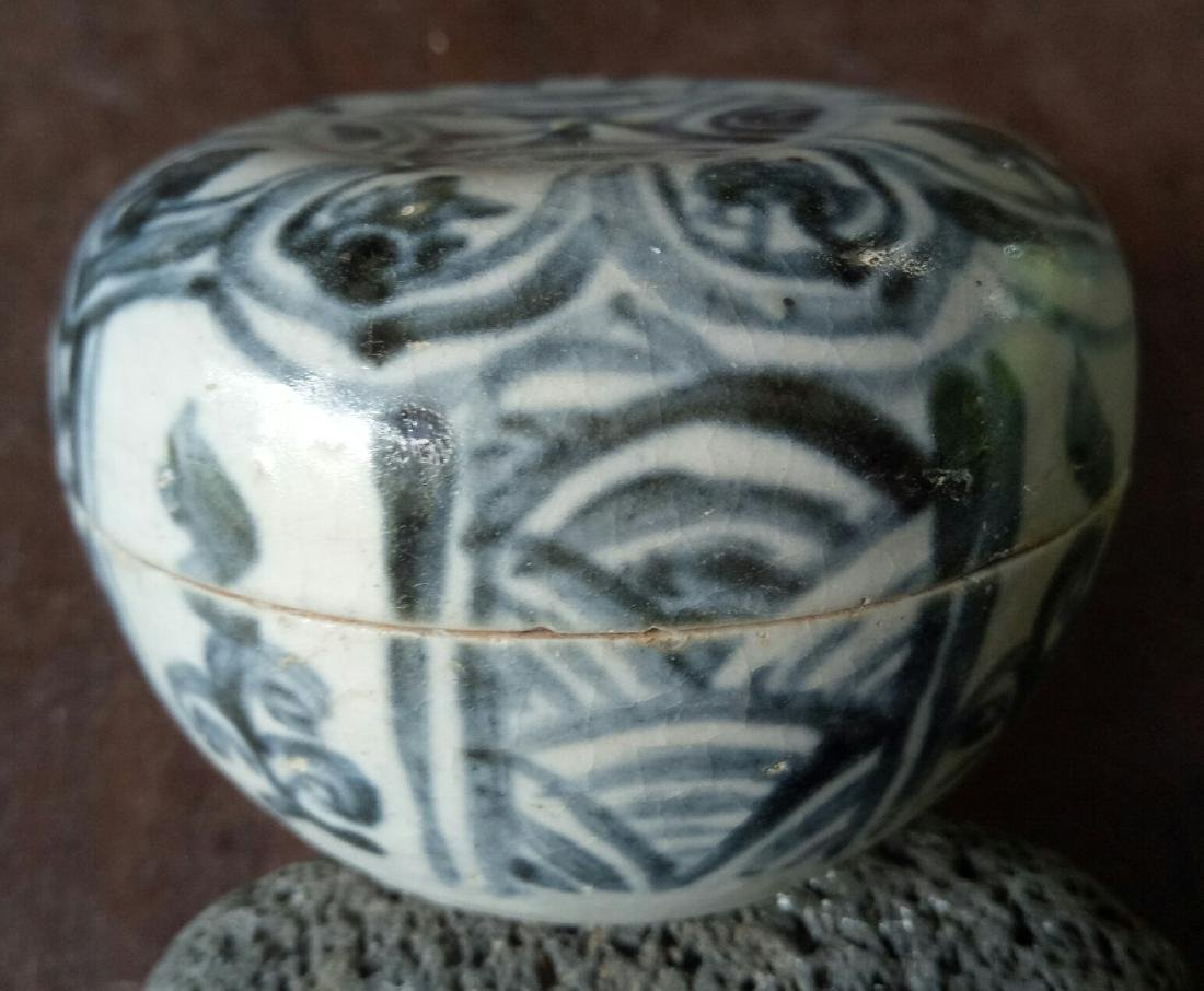 Porcelain Annamese Box, c1500