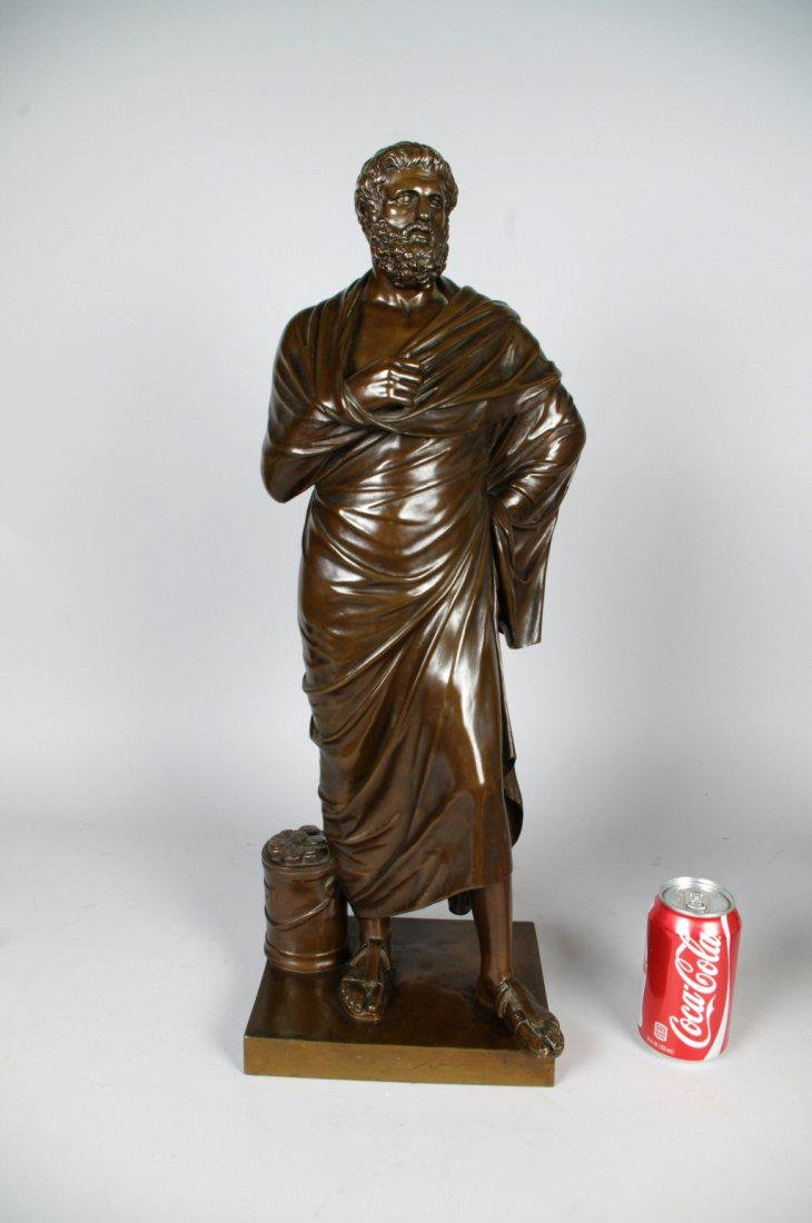 Bronze Figure of Sophocles, France 19th C - 4