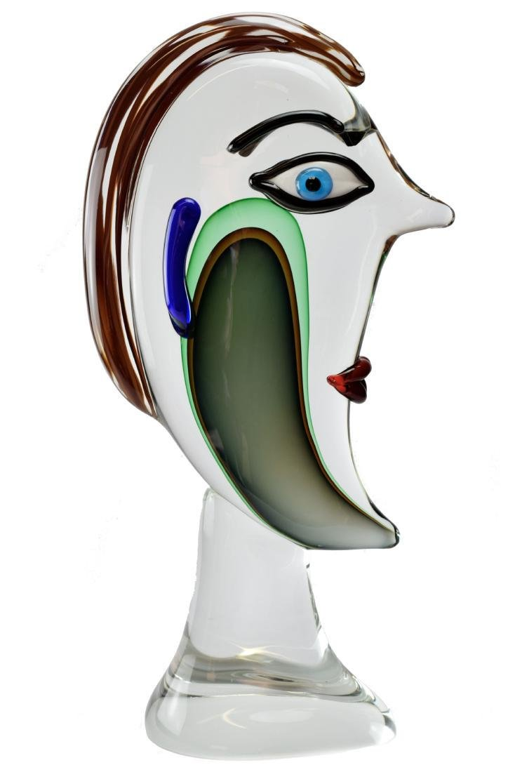 "Murano Toso Glass ""Lord"" Sculpture"