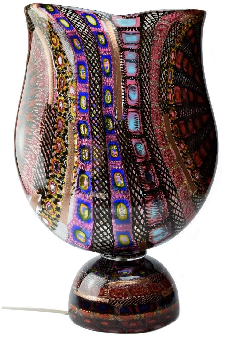 Amedeo Rossetto Murano Glass Mosaic Lamp
