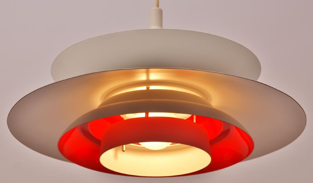Danish Refurbished 1970's Hanging Lamp