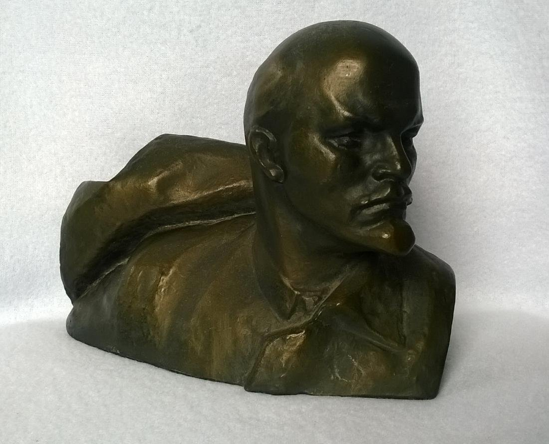 Author's Sculpture - Russian Soviet USSR Leader - 2