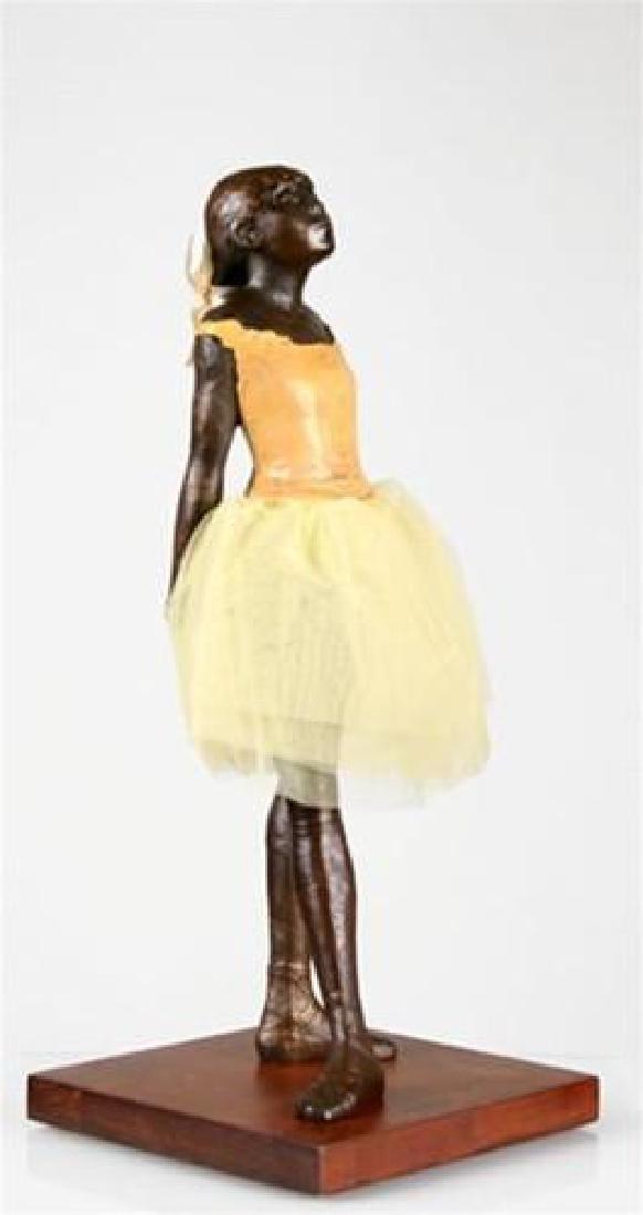 After Edgar Degas: Little Ballerina 13,5 inch statue