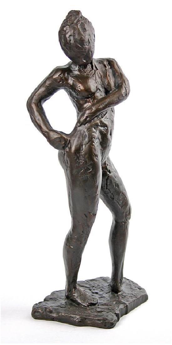 After Edgar Degas: Naked Dancer 14 inch statue