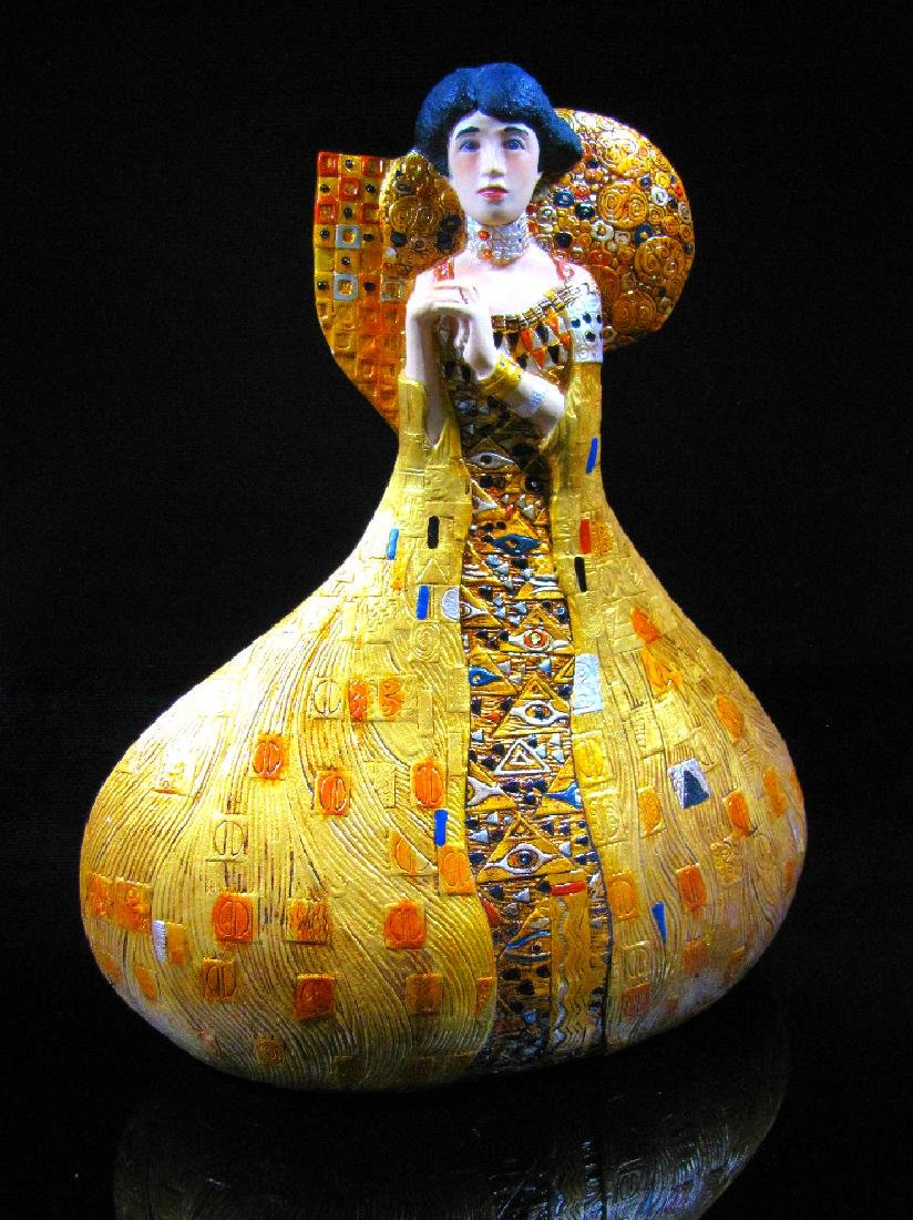 After Gustav Klimt: Adèle Bloch-Bauer statue