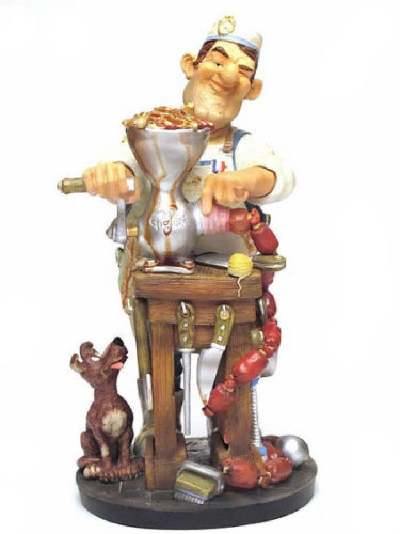 Profisti Collection: Butcher statue