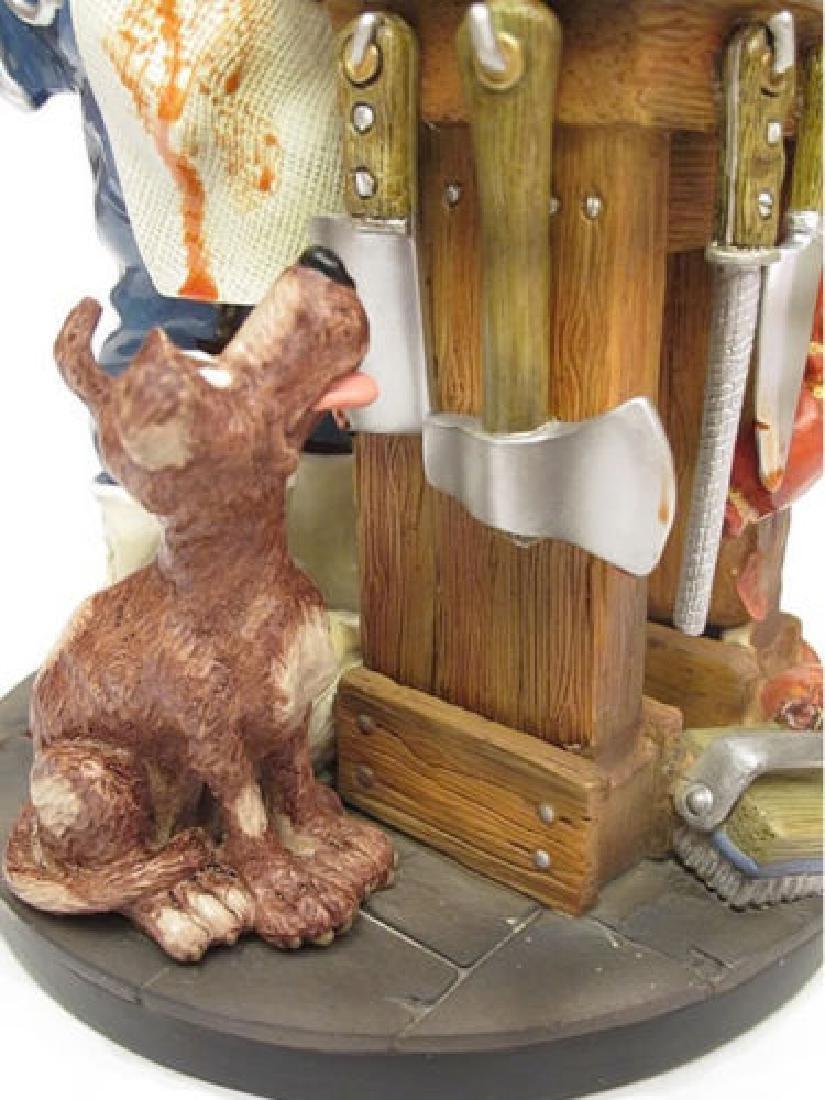 Profisti Collection: Butcher statue - 3