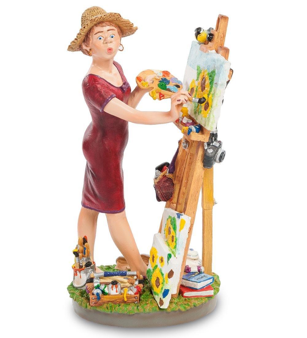 Profisti Collection: The Female Artist statue