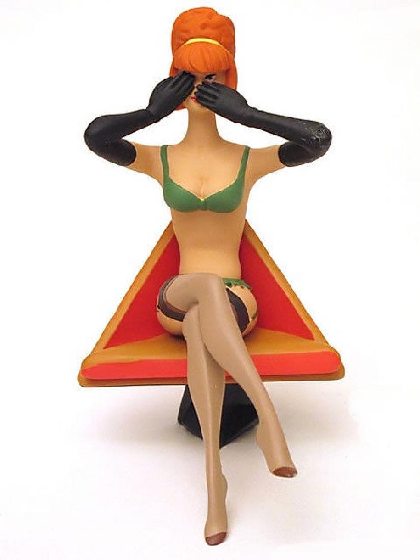 Stephan Saint Emett: See No Evil Pin Up statue