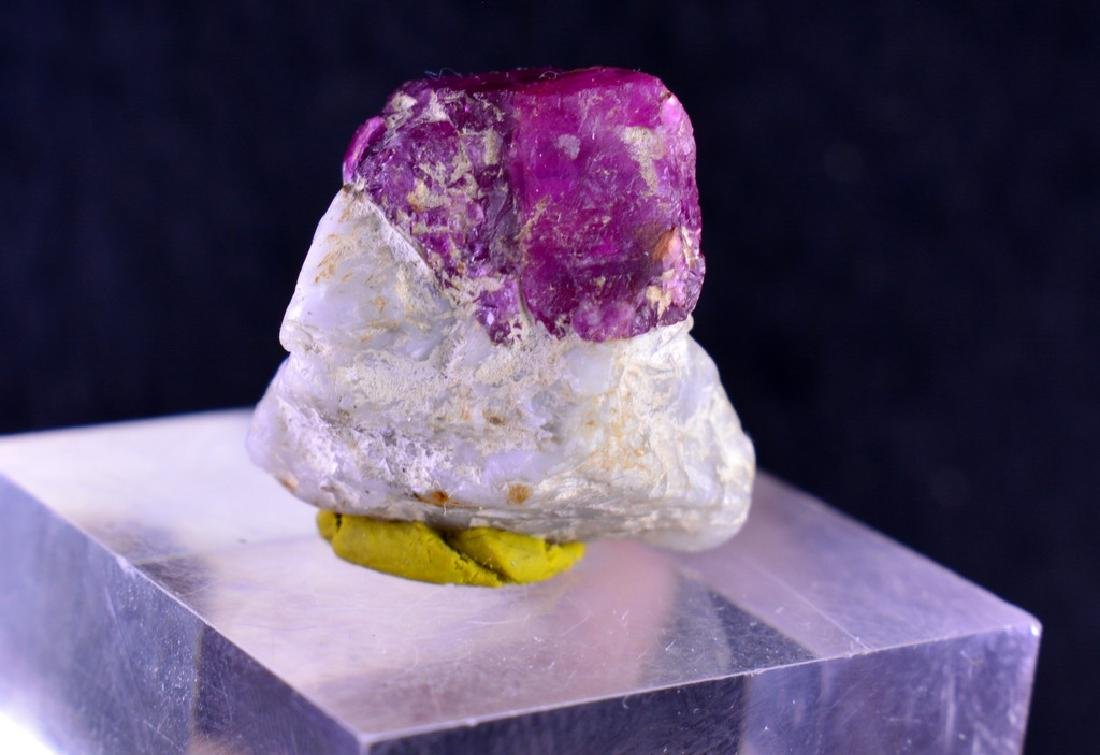 Natural Ruby specimen