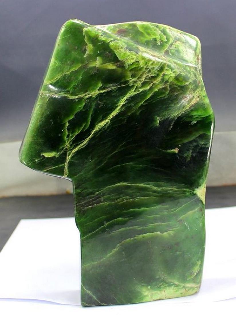 Polished Natural Nephrite Tumble