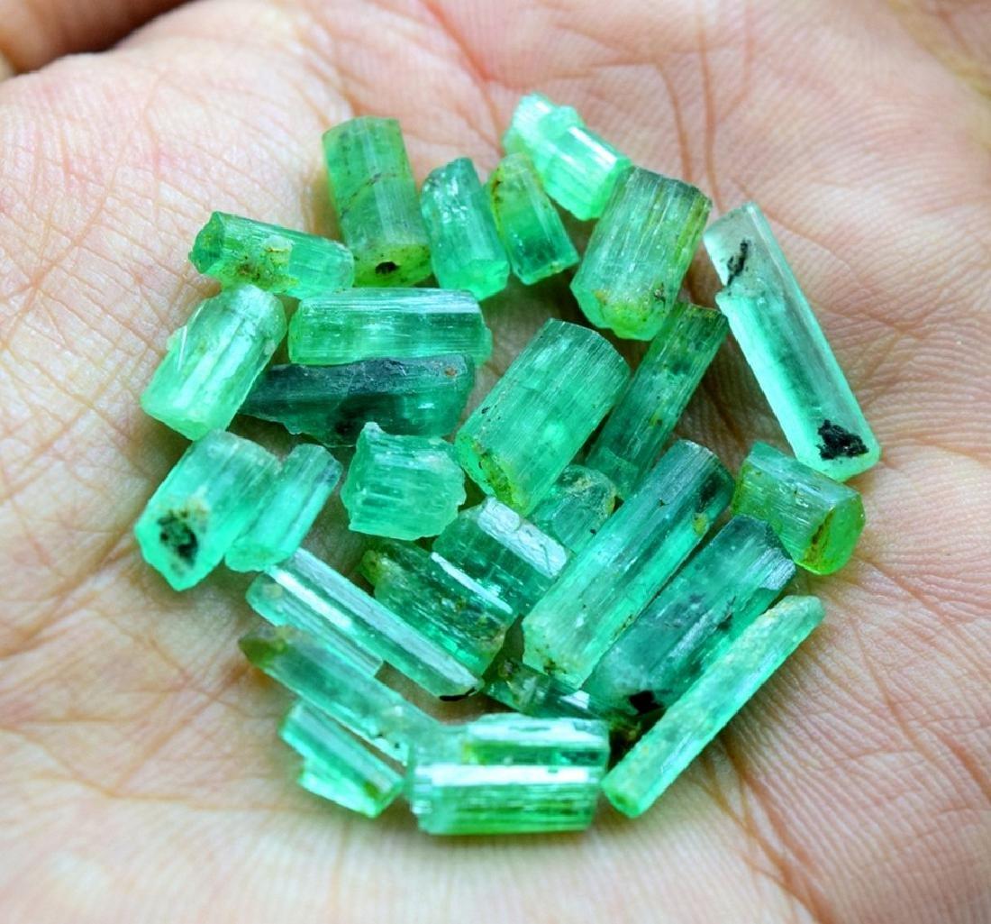 28.50 carats emerald crystals - 5