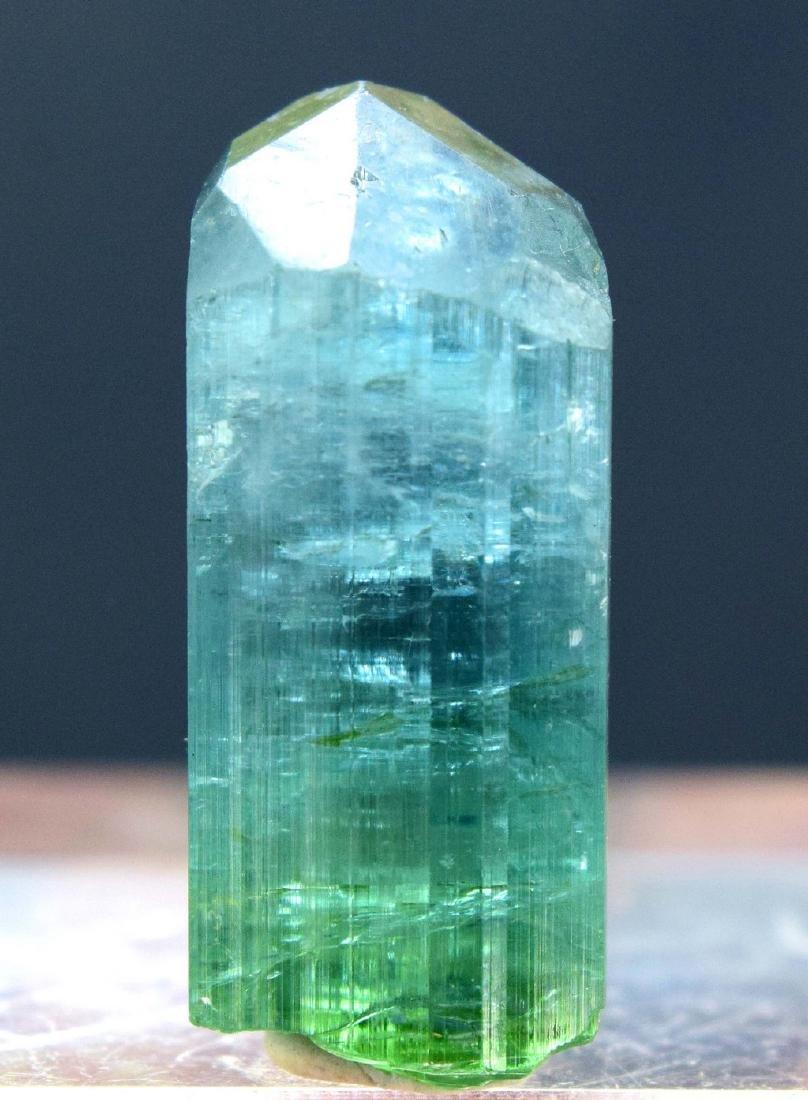 Terminated Natural Blue Green Tourmaline gem Grade