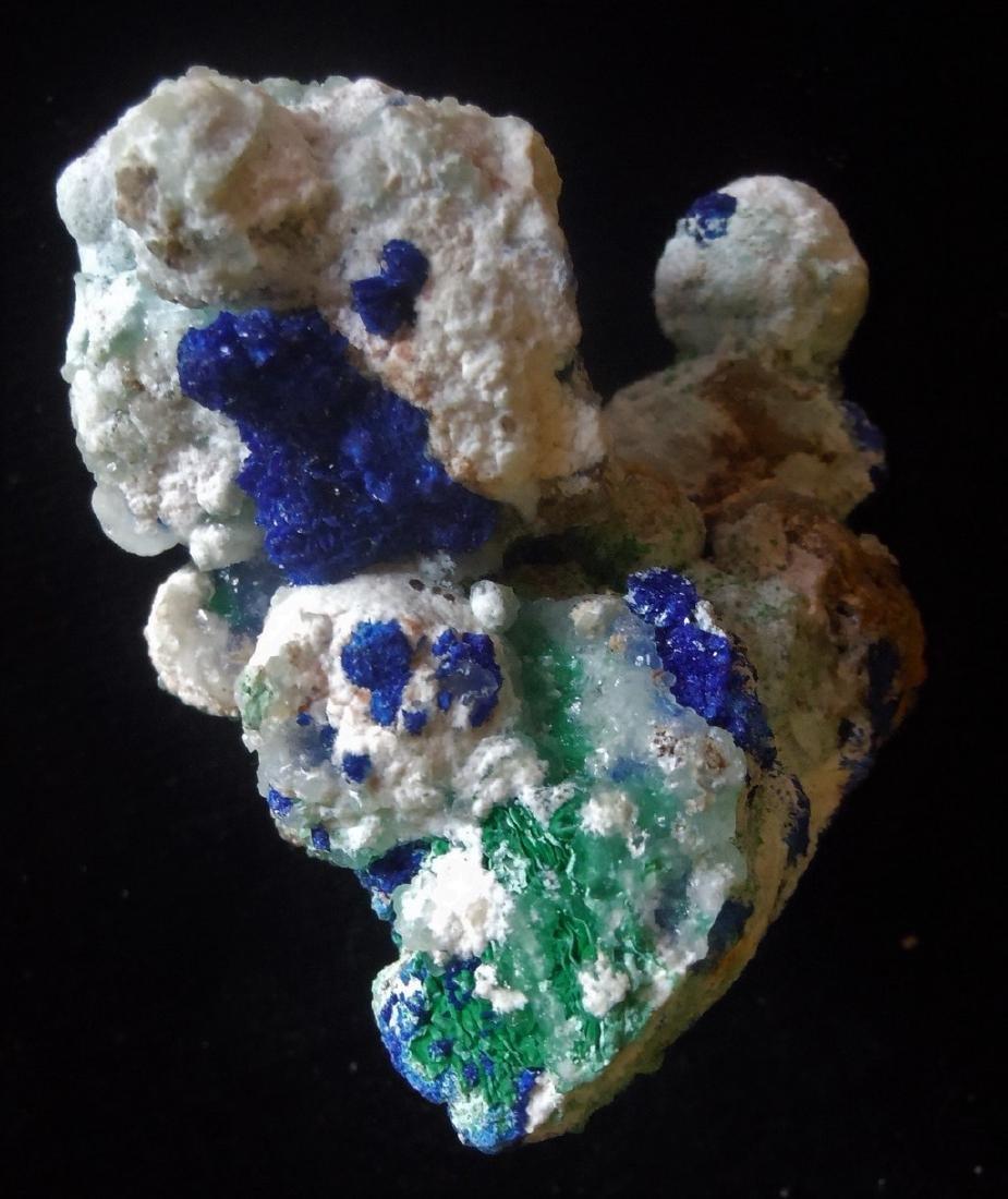 Azurite, Conichalcite & Malachite - 4