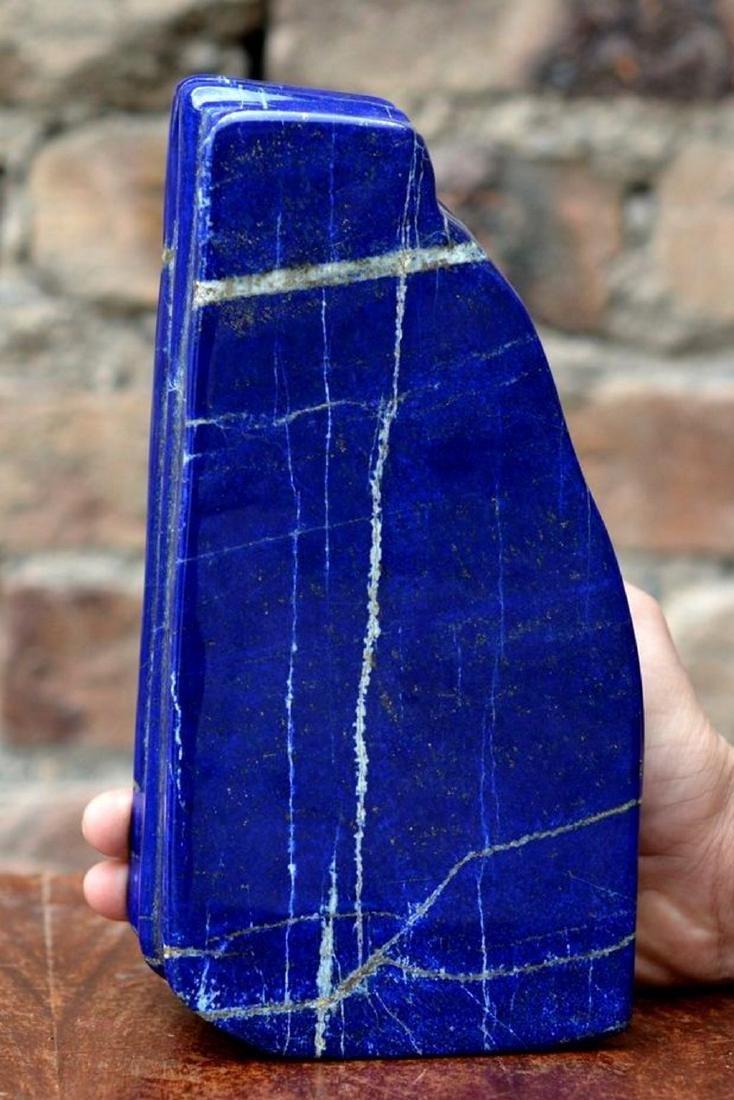 Natural LapiS Lazuli Polish Tumble - 2