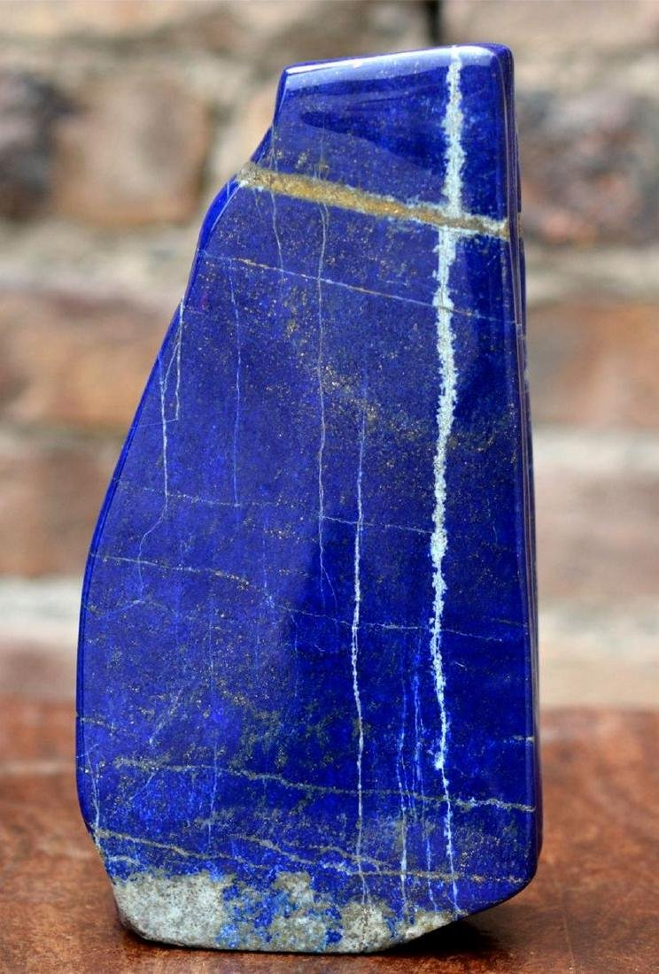 Natural LapiS Lazuli Polish Tumble - 3