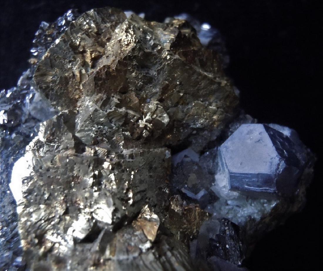 Chalcopyrite, Galena & Calcite - 4