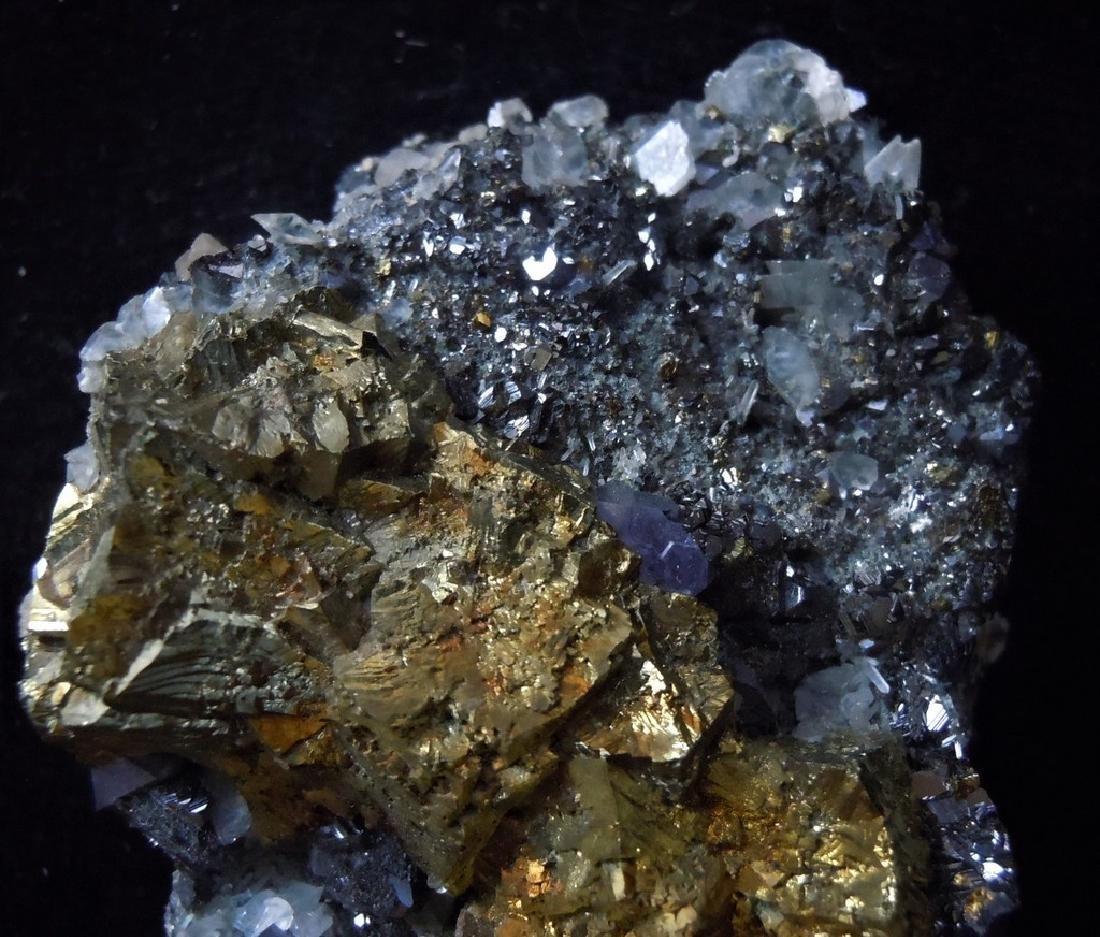 Chalcopyrite, Galena & Calcite - 5