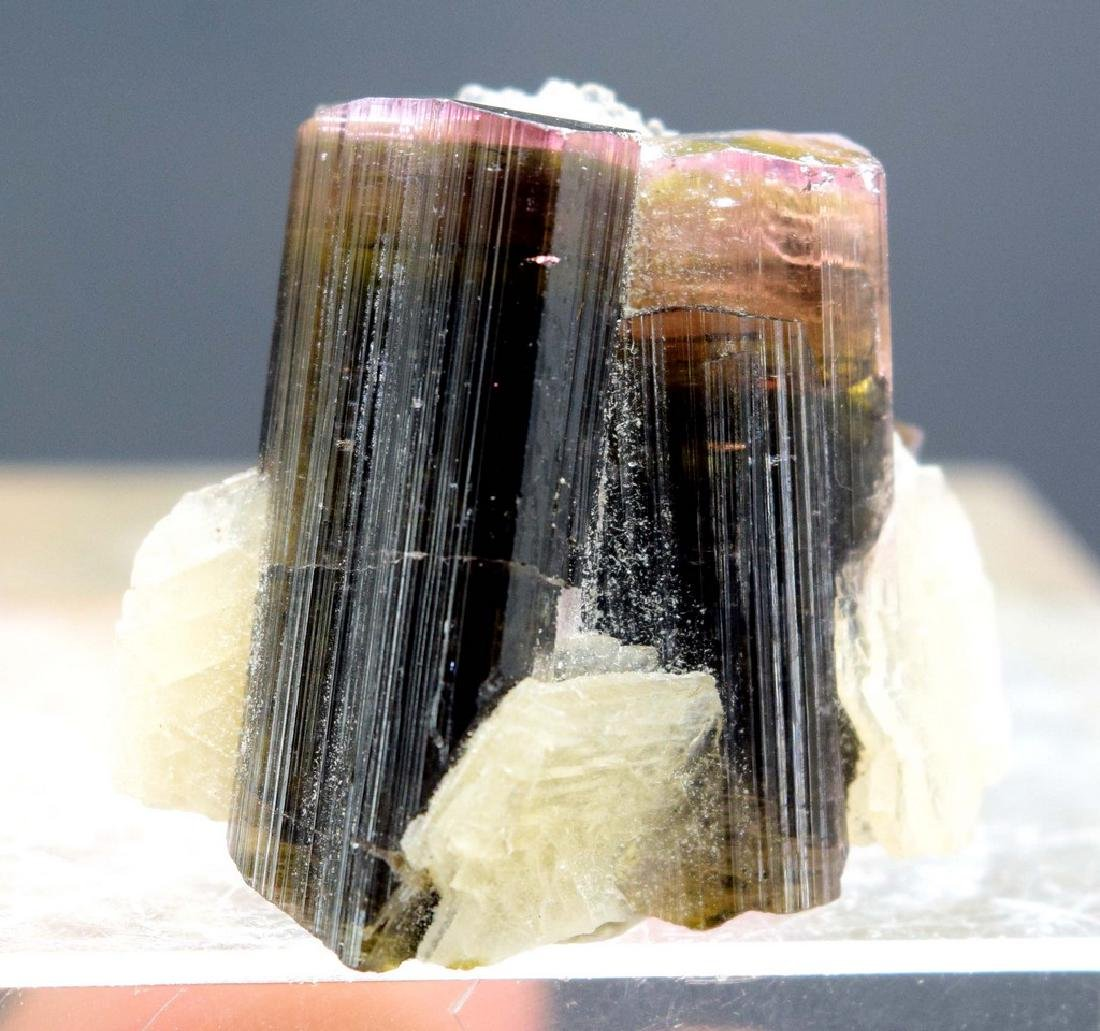 10 gram pink cap tourmaline with cleavalendite - 4