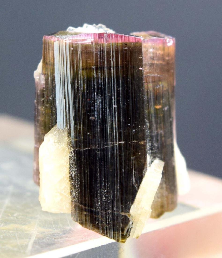 10 gram pink cap tourmaline with cleavalendite - 6