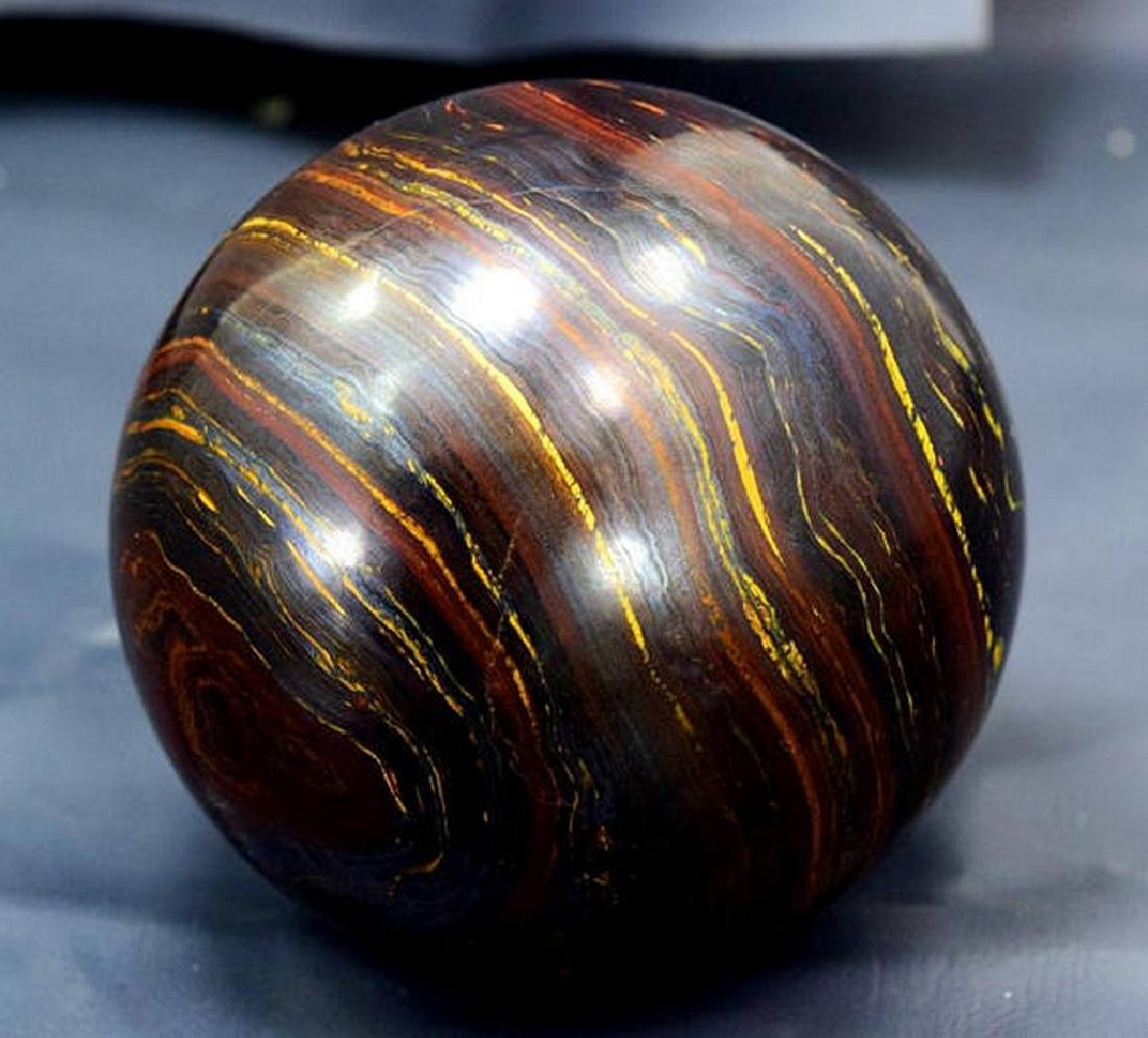 Top Quality Polished Multi-Color Tiger Eye / Iron Stone - 5