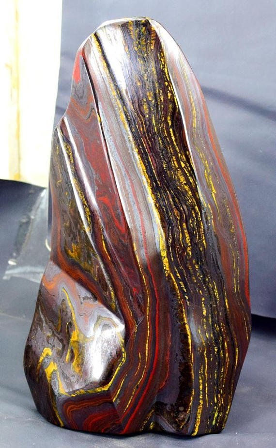 Top Quality Self Standing Tiger's EYE / IRON STONE - 2