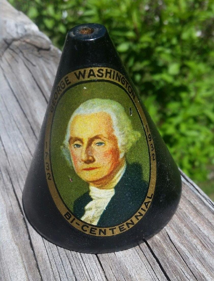 George Washington Flag Holder Rare 1932