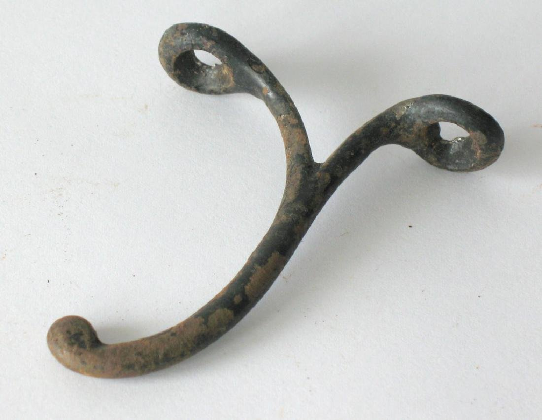 Vintage Cast Iron Coat Hook