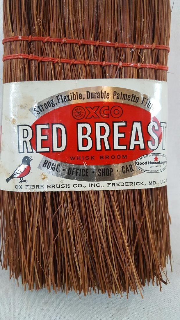 Unused Vintage Whisk Broom With Original Label Ca 1950 - 2