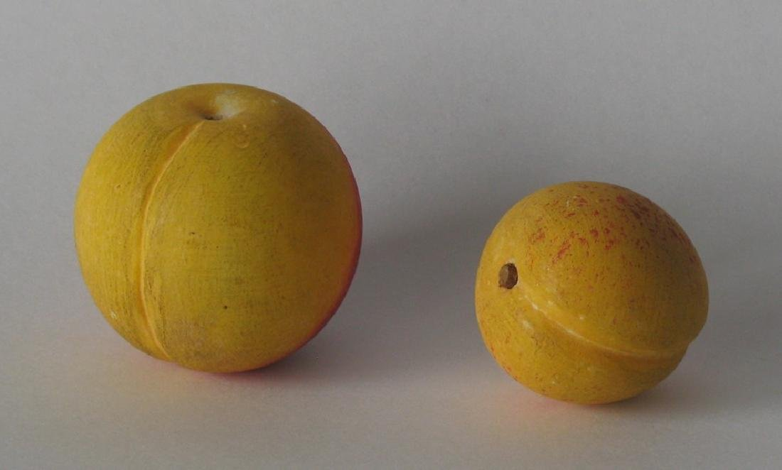 Two Pieces of Miniature Stone Fruit