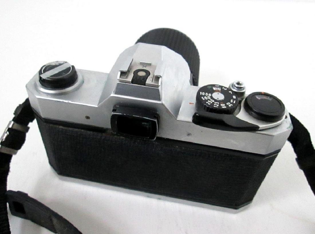 Pentax SLR Camera With Telephoto Lens - 3